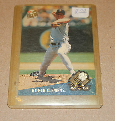 1992 Ultra Fleer MLB Roger Clemens Cy Young