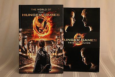 Hunger Games - 2 Book lot - The World of HG + Tribute Guide