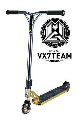 New 2017 Vx7 Madd Gear Mgp Team Scooter Gold - Free Delivery