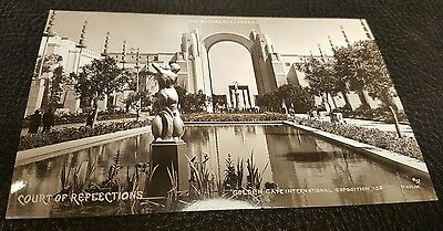 1939 Golden Gate Int'l Exposition Sf Rppc Real Photo Postcard By Moulin #57