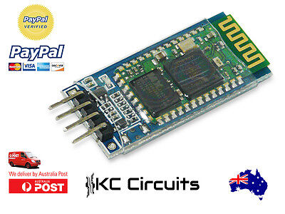 HC06 HC-06 Wireless Serial 4 Pin Bluetooth RF Transceiver Module RS232 TTL for A
