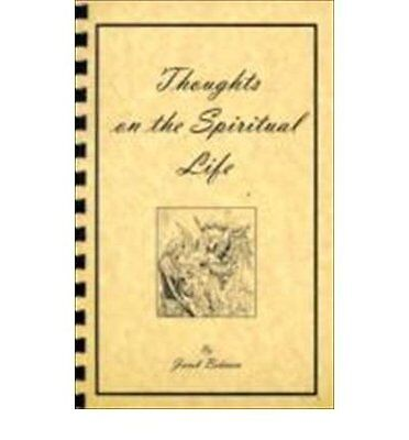 THOUGHTS ON THE SPIRITUAL LIFE. by UNKOWN Paperback New  Book