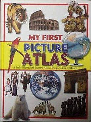 My First Picture Atlas Hardback New  Book