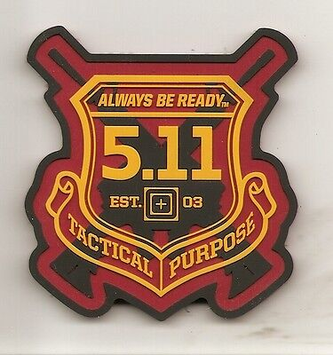 """5.11 Tactical Purpose Hook & Loop Patch """"Always Be Ready"""" Limited Edition"""