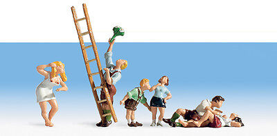 Noch 15863 Country Love (Pk 6) HO Figures Set