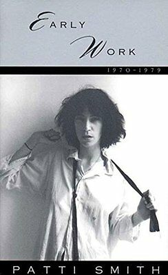 Early Work by Patti Smith New Paperback Book