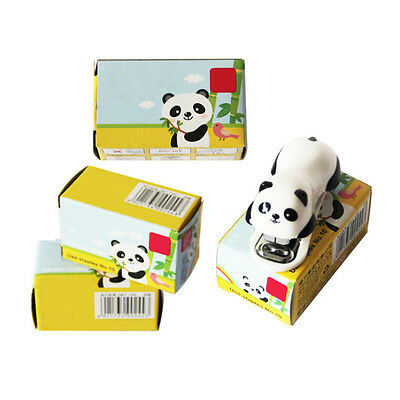 Cute Panda Office Student Small Mini School Home Paper Stapler Newest
