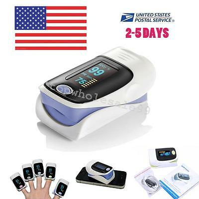 FAST Accuracy OLED Blood Oxygen Finger Pulse Oximeter Oxymeter SPO2 PR Monitor