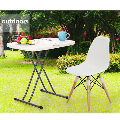 Outdoor Patio Picnic Folding Table Furniture 2ft Portable