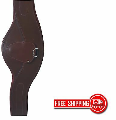 "Unicorn Equestrian Contour Padded Girth With Carabiner 40""- 54 "" Free Shipping"