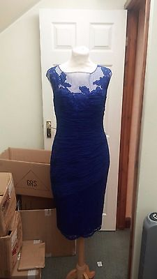 SALE Condici Mother of the Bride Royal Blue Lace Size 10 RRP £810 NEW