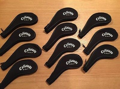 *SALE* 11 x Callaway Iron Covers Golf Club Head Covers 3-LW