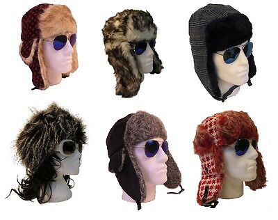 Job Lot 27 Mens Womens Trapper Ushanka Winter Hats Wholesale Mixed Size Styles