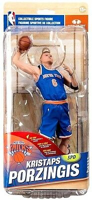NBA New York Knicks Sports Picks Series 29 Kristaps Porzingis Action Figure