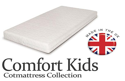 Baby Toddler Cot Bed QUILTED AND WATERPROOF Foam Mattress In All Sizes