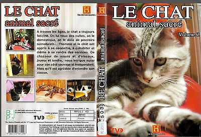 DVD Le chat animal sacre volume 2 | Documentaire | Lemaus