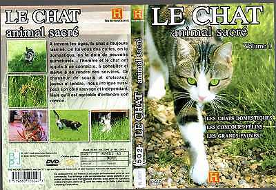 DVD Le chat animal sacre volume 1 | Documentaire | Lemaus