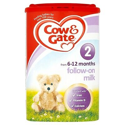 Cow And Gate Stage 2 Follow On Milk Powder 900 Grams from 6-12 months