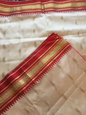 Indian Katan/ Banarasi Sari/Fancy Bridal/Kanchipuram Silk Saree 1011