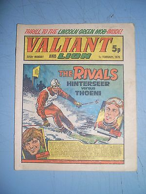 Valiant issue dated February 1 1975