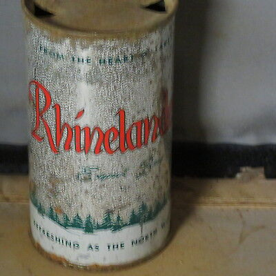 Rhinelander Beer    Colorful Solid   Different Version  Flat Top