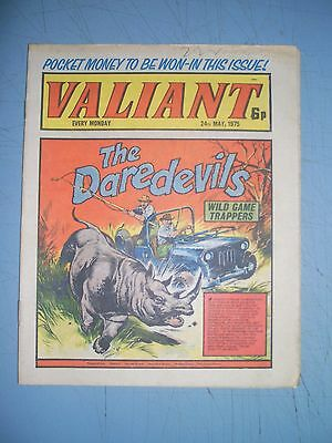 Valiant issue dated May 24 1975