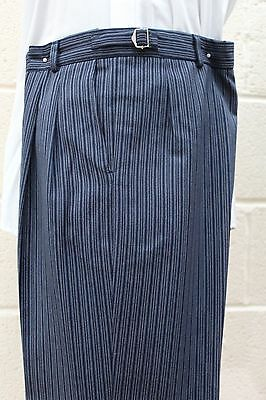 Men And Boys Navy Stripe Trousers