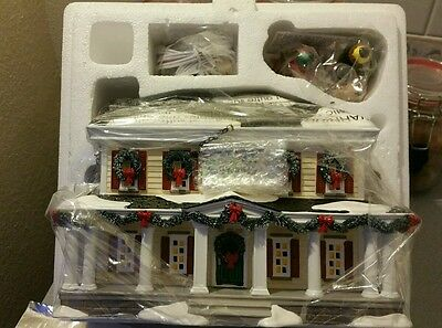 Department 56 Snow Village Eden Prairie Inn Gift Set Retired