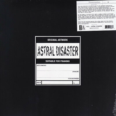 Coil Astral Disaster Prescription Issue 2016 VINYL LP