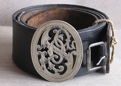 Old Czechoslovak Physical Training Organization Sokol Belt With Buckle