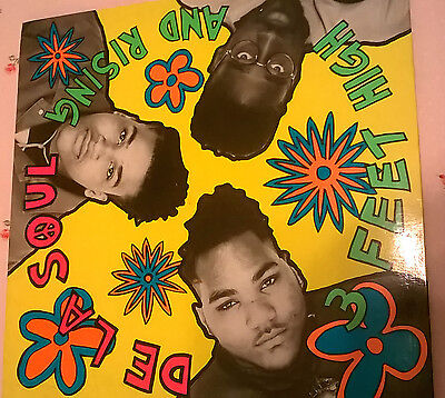 De La Soul 3 Feet High And Rising Lp 33 Nuovo  Disco Vinile  Flyng Fly 019 Italy