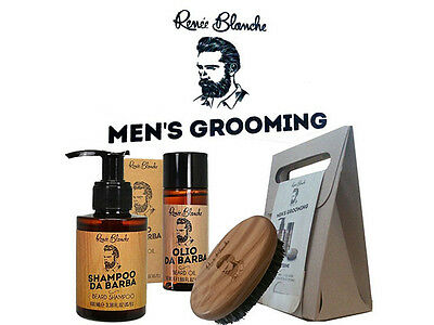 Kit Barba Men's Grooming Renee Blanche Linea Trattemento Barba Uomo