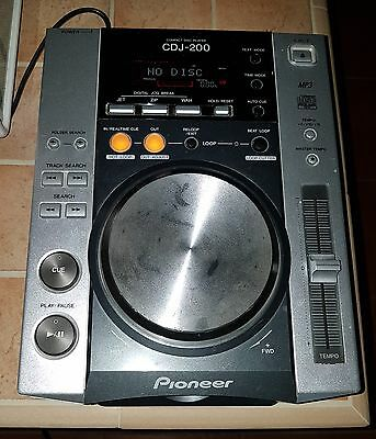 Pioneer Cdj200 Lettore Cd/mp3 Per Dj