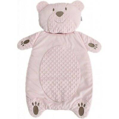 NEW Baby Changing Mat with Pillow/ Bear Pattern (PINK)
