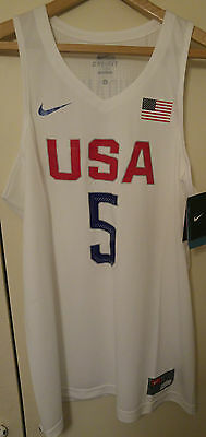 Brand New Kevin Durant USA Jersey Size Large