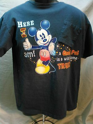 Disney Mickey Mouse T-Shirt Jerry Leigh Entertainment Apparel Adult M