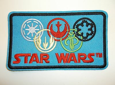 Star Wars Patch Patches~Many Versions~Embroidered~Iron Sew Hat Shirt~Ships FREE