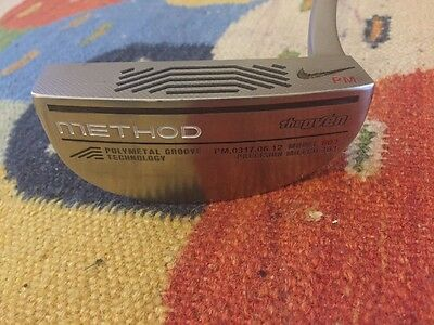 "Extremely rare Pablo Martin Tour Issue Nike ""The Oven"" Method 003 Putter"