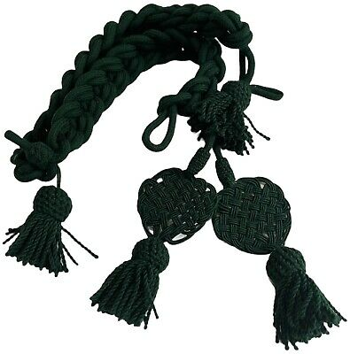 French  Nepolenic Rachets Shako Cords Excellent Quality Green Colour