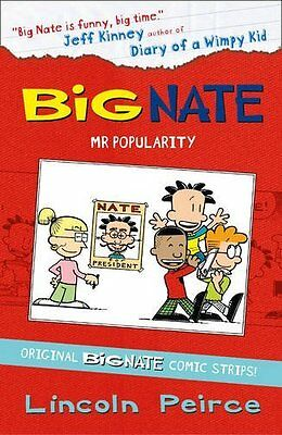 Big Nate Compilation 4: Mr Popularity by Lincoln Peirce New Paperback Book