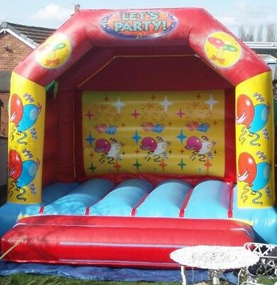 Lets Party Bouncy Castle With Blower And Pegs