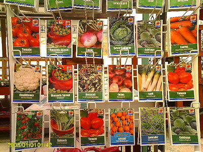 10- Packs Of Mixed Vegetable Seeds. Ideal.starter Selection...
