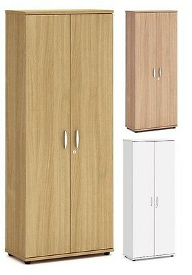 2000mm Tall Office Cupboard Locking Cabinet with Adjustable Shelves