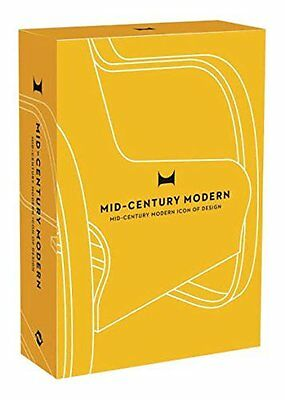 Mid-Century Modern Icons of Design by Design Here New Paperback Book