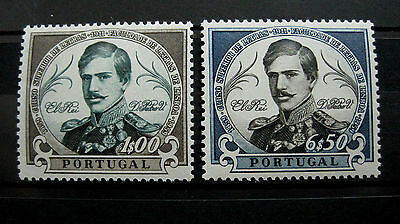 Portugal Stamp Set - 1961 The 100th An. of the Philosophy University MNH