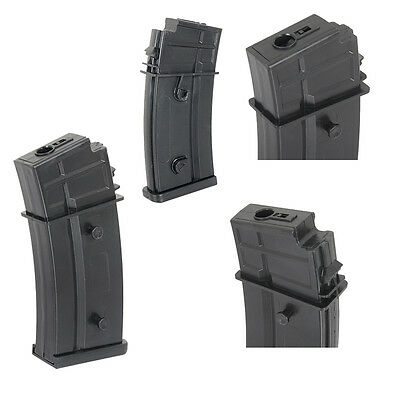 Dboys Airsoft G-36 Magazine Mid-Cap 100 Rd Black For 6mm bb's