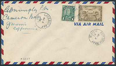 1933 AAMC #3339 Ft McMurray-Cameron Bay-Coppermine Round Trip Cover