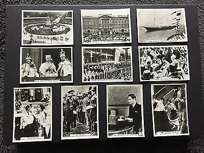 Ardath Photocards Collection Of 10 Coronation Cards And Royal Family - Excellent