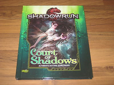 Shadowrun 5th Ed. Court of Shadows Sourcebook Hardcover Catalyst Game Labs 2016