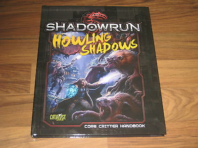 Shadowrun 5.Edition Howling Shadows Core Critter Book HC Catalyst Game Labs 2016